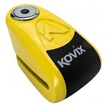 KOVIX DISC LOCK ALARM YELLOW