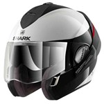 Shark Evoline Series 3 Hakka ECE Helmet - Gloss White/Black/Red