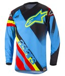 Alpinestars 2018 Youth Racer Supermatic Jersey - Aqua/Black/Red