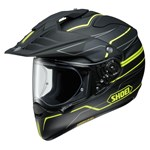 Shoei Hornet ADV Navigate TC-3 - Matt Black-Yellow