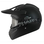 Shark Explore-R Helmet - Blank Matt Black