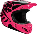 (CLEARANCE SALE) - FOX 2016 YOUTH V1 HELMET - PINK