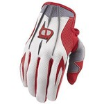 (CLEARANCE SALE) - MSR M9 Axxis Men's MX Gloves - Red Grey - only $10