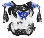 FOX 2018 R3 ROOST DEFLECTOR - BLUE (SIZE LARGE)