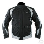 (EVERYDAY SPECIAL) - KG CAYENNE TEXTILE JACKET BLACK/GREY Clearance Special