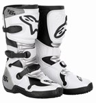 ALPINESTARS TECH 6S YOUTH MX BOOTS - WHITE