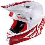 FLY RACING 2019 F2 CARBON HELMET - WHITE/RED