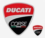 Ducati Course Rubber Sticker