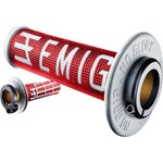 ODI EMIG MX LOCKON GRIPS 2S RED/WHITE