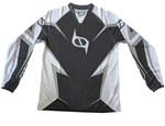 (CLEARANCE MSR) - MSR M9 Axxis Men's MX Jersey - Black White Plain