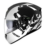(CLEARANCE SALE) - Shark SKWAL INSTINCT Helmet - Matt Black/White/Silver