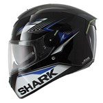 (CLEARANCE SALE) - Shark SKWAL MATADOR Helmet - Black/Blue/Silver