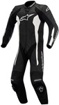(CLEARANCE SALE) - Alpinestars Challenger 1-Piece Leather Suit (Black/White)