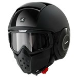 (SHARK CLEARANCE) - Shark Raw Helmet - Dual Black