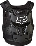 FOX 2017 PROFRAME LC CHEST PROTECTOR - BLACK