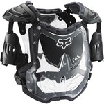 FOX 2017 R3 WOMEN'S ROOST DEFLECTOR - BLACK/GREY (SIZE LARGE)