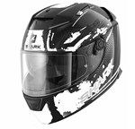 (CLEARANCE SALE) - Shark Speed-R Helmet - Duke Black/White