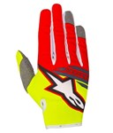 Alpinestars 2018 Youth Radar Flight Gloves - Yellow Fluo/Red/Anthracite