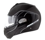 (SHARK CLEARANCE) - Shark Evoline 3 Pro Carbon Helmet - Matte Black