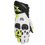 ALPINESTARS GP PRO R2 GLOVES - BLACK / WHITE / FLURO