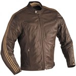 IXON Opium Mens Leather Jacket Brown