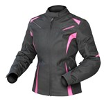 (CLEARANCE) DRIRIDER JEWEL 2 WOMENS WATERPROOF TEXTILE JACKET - PINK