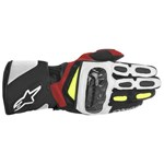 (CLEARANCE) ALPINESTARS SP2 SPORT GLOVE - BLACK/WHITE/YELLOW/RED (SC)