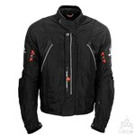 (CLEARANCE SALE) - RYNUS SUNSET BOULEVARDE TEXTILE JACKET BLACK