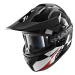 (CLEARANCE SALE) - Shark Explore-R Cisor Helmet - Black/White