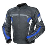 DRIRIDER Air Ride 4 Textile Jacket - Black/Blue