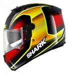 (SHARK CLEARANCE) - Shark Speed-R Series 2 Starq Helmet - Black/Red/Gold