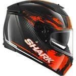(SHARK CLEARANCE) - Shark Speed-R Series 2 Duke - Black/Orange