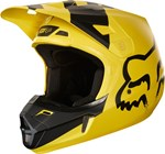 FOX 2018 YOUTH V1 MASTAR HELMET - GLOSS YELLOW