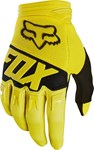FOX 2018 DIRTPAW RACE YOUTH GLOVES - YELLOW