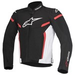 Alpinestars T-GP Plus R v2 Air Jacket - Black White Red