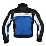 (EVERYDAY SPECIAL) - KG RADAR SUMMER TEXTILE JACKET BLACK/BLUE Clearance Special