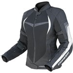 (CLEARANCE SALE) - DriRider Air Ride 2 Womens Textile Jacket - Black White