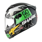 Shark Race-R Pro Carbon Redding ECE Helmet - Black/Green
