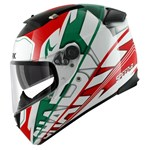 (SHARK CLEARANCE) - Shark Speed-R Series 2 Helmet - Craig White/Green/Red