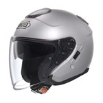 Shoei J-Cruise Helmet - Solid Light Silver