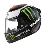 Shark Race-R Pro Replica Lorenzo ECE Helmet - Matt Black/White/Red