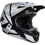(CLEARANCE) FOX 2017 V1 RACE ECE HELMET - BLACK