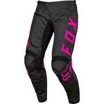 (CLEARANCE) FOX 2017 YOUTH GIRLS 180 PANTS - BLACK / PINK