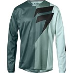 (CLEARANCE) 2018 SHIFT WHIT3 TARMAC MX JERSEY - TEAL