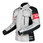 (SPECIAL) DRIRIDER MULTI-TEK ADVENTURE TEXTILE JACKET - GREY/BLACK