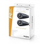 INTERPHONE F4MC TWIN MOTORCYCLE HEADSETS