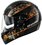 (SHARK CLEARANCE) - Shark Vision-R Divine Black/Orange