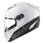 Shark RACE-R PRO Carbon ECE Helmet - Blank Gloss White