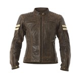 RST Roadster Classic Women's Leather Jacket - Brown