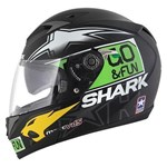 Shark S700S Redding Replica ECE Helmet - Green/Yellow